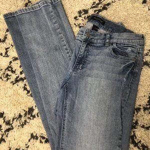 White House Black Market WHBM Noir Jeans